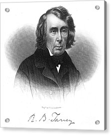 Roger B. Taney (1777-1864) Acrylic Print by Granger