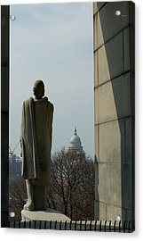 Roger Williams And His Capitol Acrylic Print