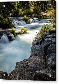 Acrylic Print featuring the photograph Rogue River - 2 by Randy Wood