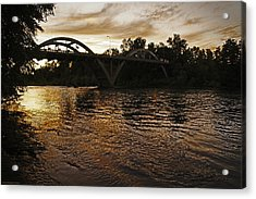 Rogue River Sunset Acrylic Print