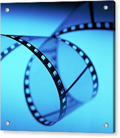 Roll Of 35mm Photographic Film Acrylic Print by Tek Image