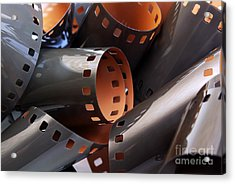 Roll Of Film Acrylic Print