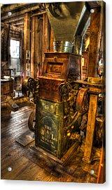 Roller Mill Acrylic Print