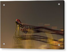 Rollercoaster Acrylic Print by Douglas Barnard