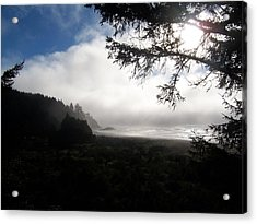 Acrylic Print featuring the photograph Rolling Fog by Peter Mooyman