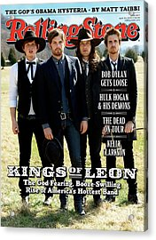 Rolling Stone Cover - Volume #1077 - 4/30/2009 - Kings Of Leon Acrylic Print