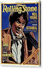 Rolling Stone Cover - Volume #284 - 2/8/1979 - Neil Young Acrylic Print