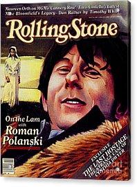 Rolling Stone Cover - Volume #340 - 4/2/1981 - Roman Polanski Acrylic Print