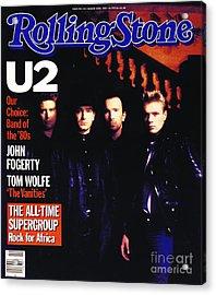 Rolling Stone Cover - Volume #443 - 3/15/1985 - U2 Acrylic Print
