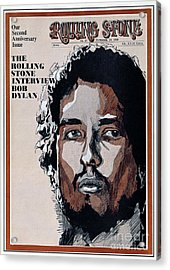 Rolling Stone Cover - Volume #47 - 11/29/1969 - Bob Dylan Acrylic Print