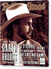 Rolling Stone Cover - Volume #653 - 4/1/1993 - Garth Brooks Acrylic Print