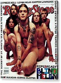 Rolling Stone Cover - Volume #669 - 11/11/1993 - Blind Melon Acrylic Print by Mark Seliger