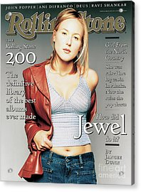 Rolling Stone Cover - Volume #760 - 5/15/1997 - Jewel Acrylic Print