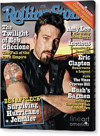 Rolling Stone Cover - Volume #945 - 4/1/2004 - Ben Affleck Acrylic Print