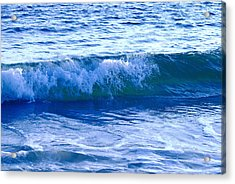 Rolling Surf Acrylic Print