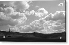 Rolls And Dips Acrylic Print by Michael Standen Smith