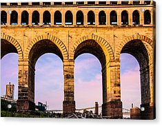 Roman Arches Acrylic Print by Semmick Photo