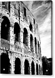 Acrylic Print featuring the photograph Roman Colosseum by Donna Proctor