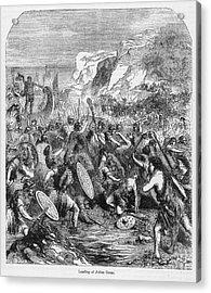 Roman Invasion Of Britain Acrylic Print by Granger