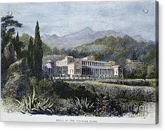 Roman Villa Acrylic Print by Granger