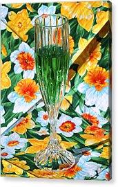 Romantic Emerald Acrylic Print