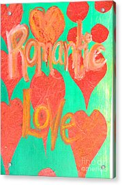 Romantic Love Acrylic Print