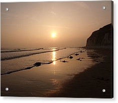 Romantic Sunset Acrylic Print