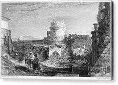 Rome: Appian Way, 1833 Acrylic Print by Granger