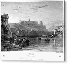 Rome: Aventine Hill, 1833 Acrylic Print by Granger