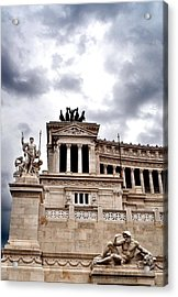 Rome Capitol Building Acrylic Print by Heather Marshall