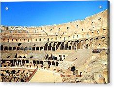 Rome Coliseum Acrylic Print by Valentino Visentini