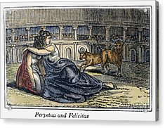 Rome: Perpetua & Felicitas Acrylic Print by Granger
