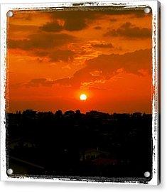 Rome's Sunset Acrylic Print