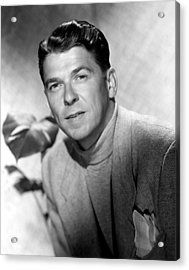 Ronald Reagan, 1950 Acrylic Print by Everett