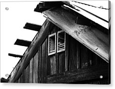 Roof Top Acrylic Print by Loretta Justice