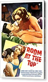 Room At The Top, Simone Signoret Acrylic Print by Everett
