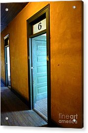 Room Six In Old Hotel Acrylic Print by Renee Trenholm