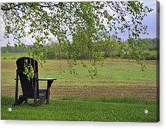 Room With A View Acrylic Print by Alan Norsworthy