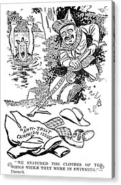 Roosevelt Cartoon, 1902 Acrylic Print by Granger