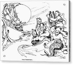 Roosevelt Cartoon, 1907 Acrylic Print by Granger