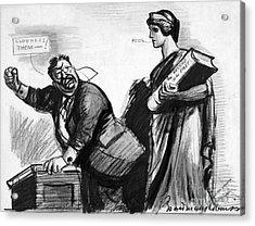 Roosevelt Cartoon, C1916 Acrylic Print by Granger