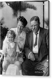 Roosevelt Family, 1915 Acrylic Print by Granger