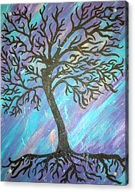 Roots To A New Beginning Acrylic Print by Alisha Harrison