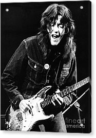 Rory Gallagher 1971 Acrylic Print