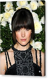 Rose Byrne At Arrivals For Chanel 6th Acrylic Print by Everett