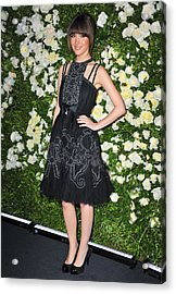 Rose Byrne Wearing A Chanel Dress Acrylic Print