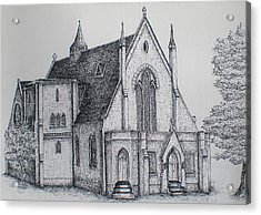 Rosemount Parish Church Acrylic Print
