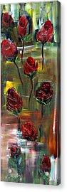 Roses Free Acrylic Print by Kathy Sheeran