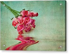 Roses Acrylic Print by Michael Petrizzo