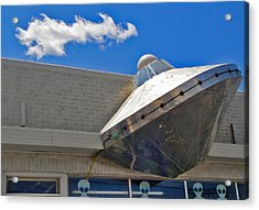 Roswell Alien Spacecraft Acrylic Print by Gregory Dyer